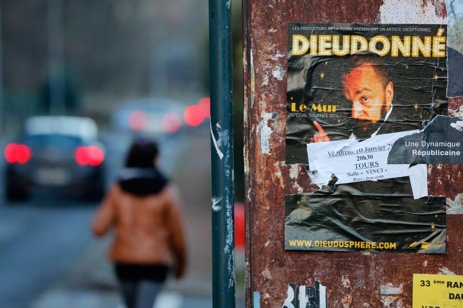 Le sujet de prédilection de Dieudonné demeure la... (PHOTO STÉPHANE MAHÉ, REUTERS)