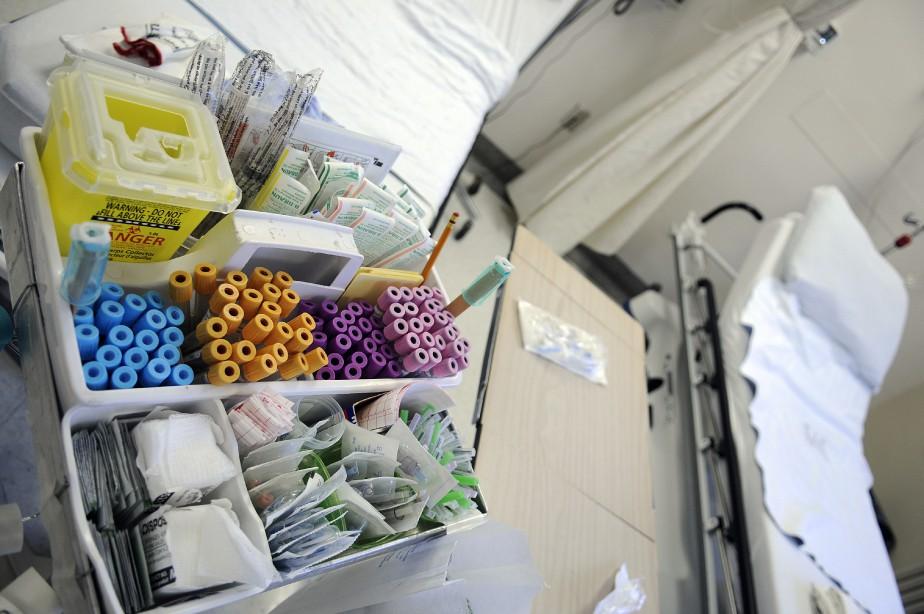Les établissements de santé du Québec achètent chaque... (photo Mariane L. St-Gelais, archivesLe Quotidien)