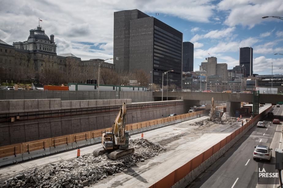 Des fermetures importantes frapperont trois des infrastructures routières... (Archives La Presse)