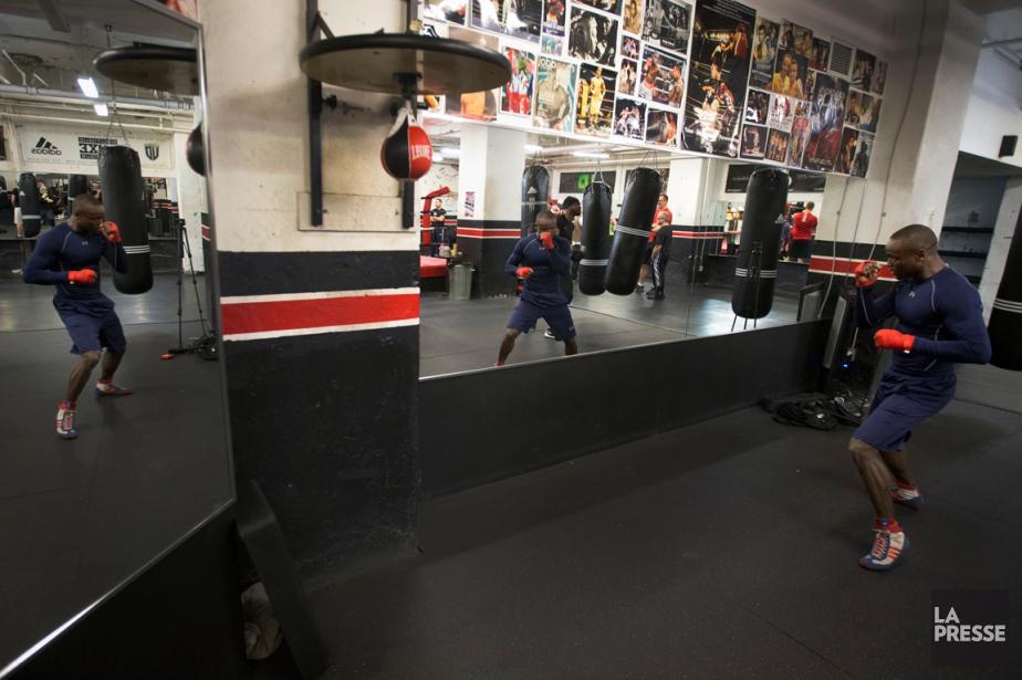 Dierry Jeanremontera dans le ring le 13mai au... (Photo Ivanoh Demers, La Presse)
