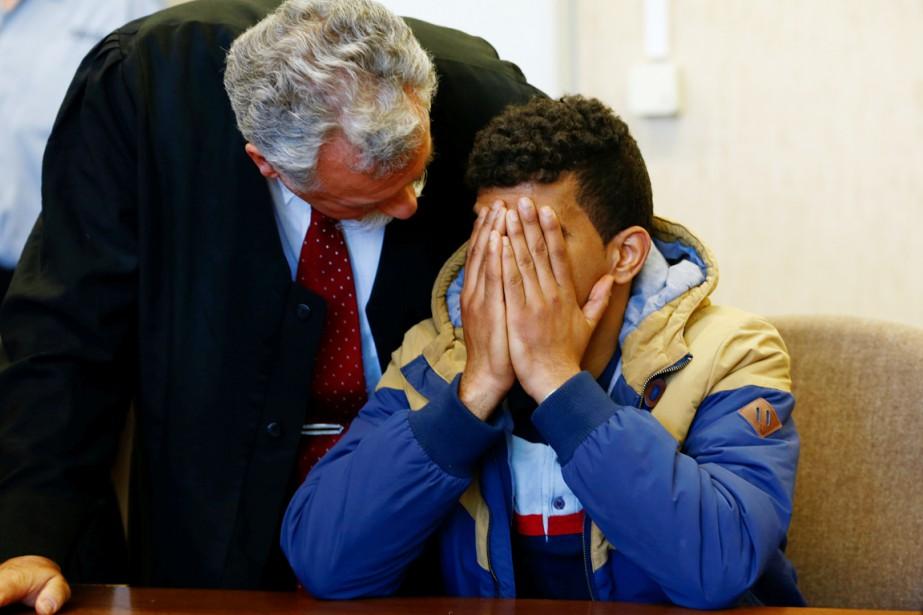 Le jeune prévenu (que l'on voit ici en... (PHOTO WOLFGANG RATTAY, REUTERS)