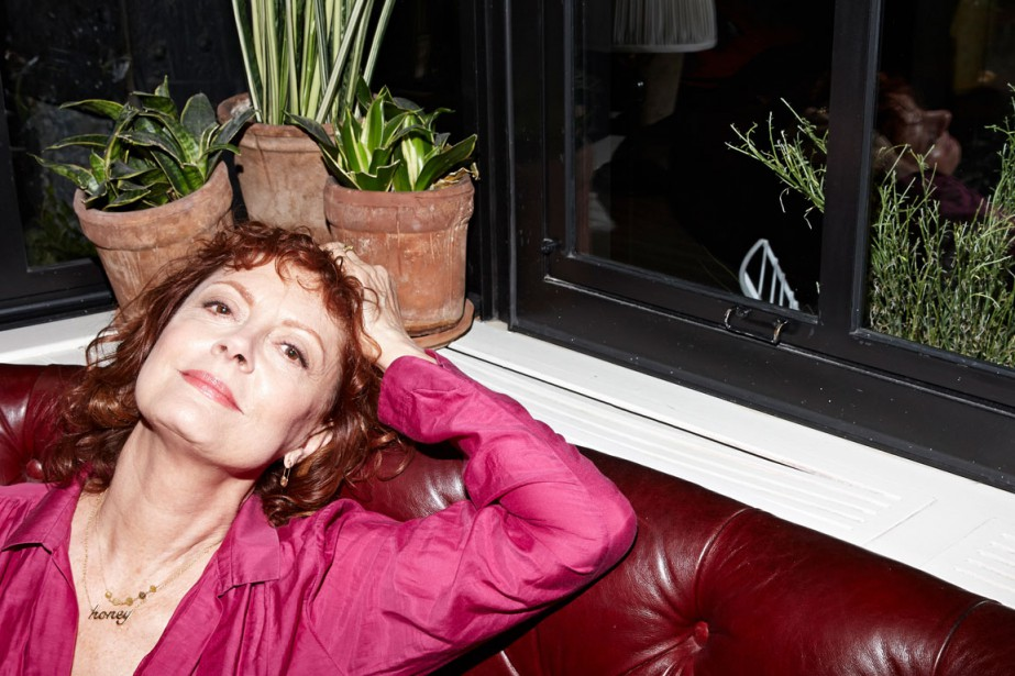 À 69 ans, Susan Sarandon est toujours d'actualité,... (PHOTO JAKE CHESSUM, THE NEW YORK TIMES)