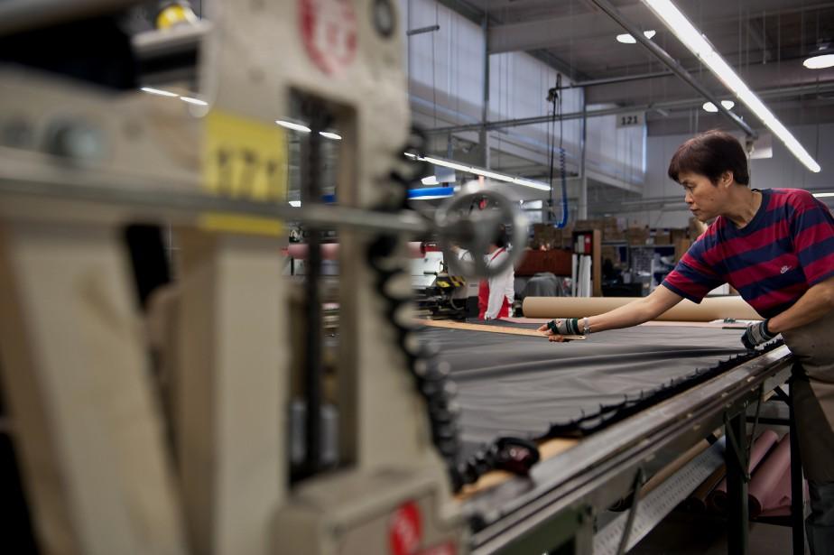 Près de 16 500postes dans le secteur manufacturier... (PhotoGalit Rodan, Archives Bloomberg)