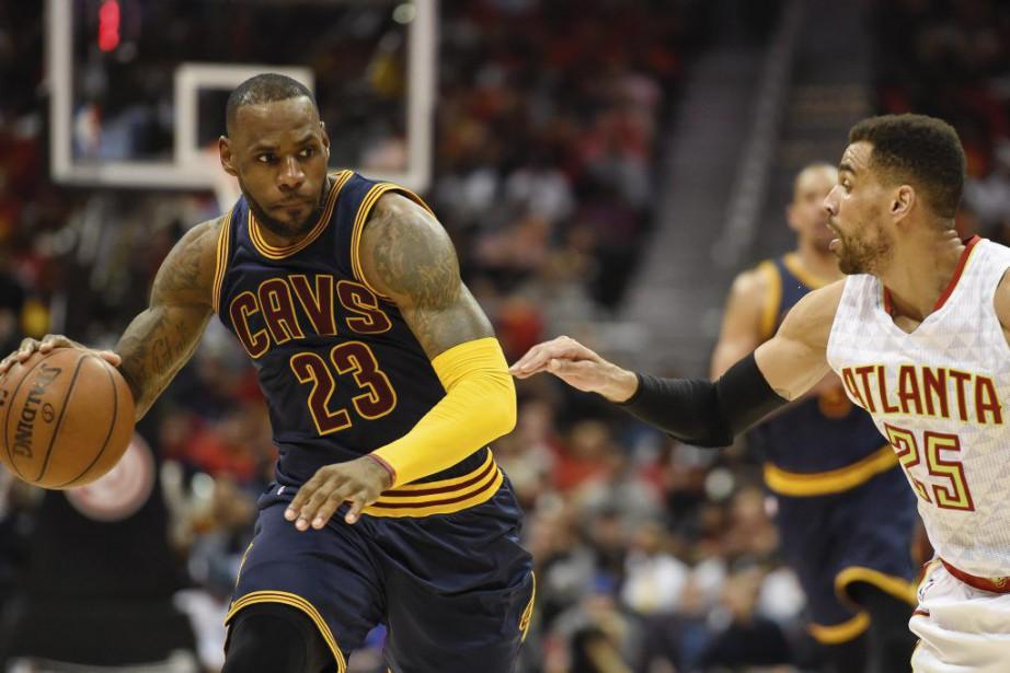 Tout va pour le mieux pour LeBron James... (PHOTO DALE ZANINE, USA TODAY)