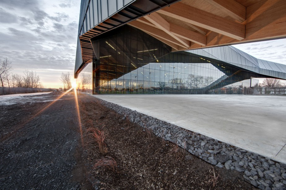 Le Stade de soccer de Montréal est situé... (PHOTO FOURNIE PAR OLIVIER BLOUIN)