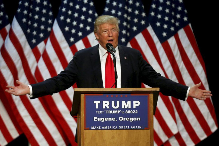 Donald Trump... (PHOTO JIM URQUHART, REUTERS)