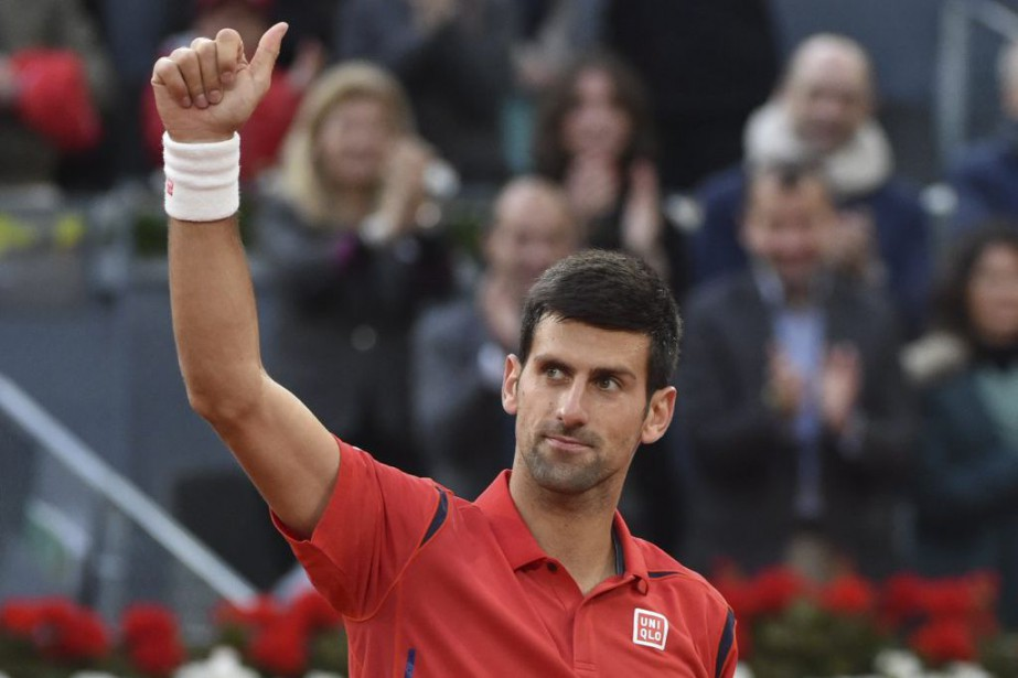 Novak Djokovic... (PHOTO GERARD JULIEN, AFP)