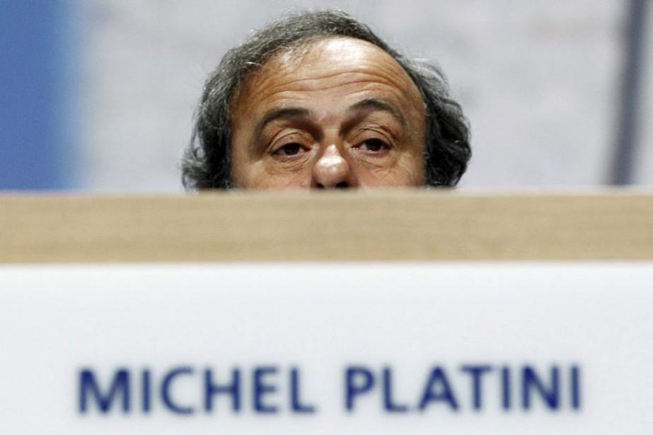 Michel Platini... (PHOTO ARND WIEGMANN, ARCHIVES REUTERS)