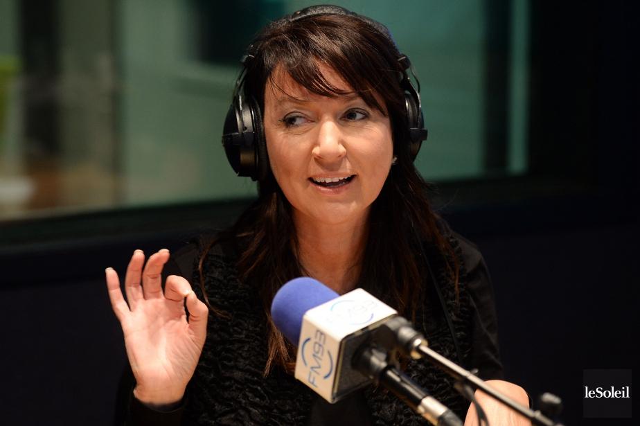 Nathalie Normandeau était animatrice au FM93.... (Photothèque Le Soleil, Erick Labbé)