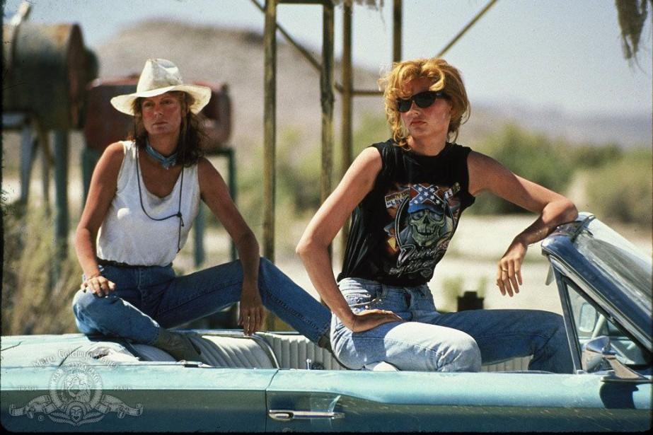 Thelma&Louise, campées respectivement par Geena Davis et Susan... (PHOTO FOURNIE PAR MGM)