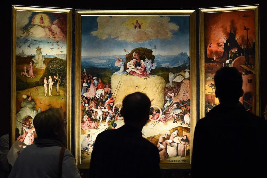 Une oeuvre présentée dans le cadre de l'exposition... (PHOTO ARCHIVES AFP)