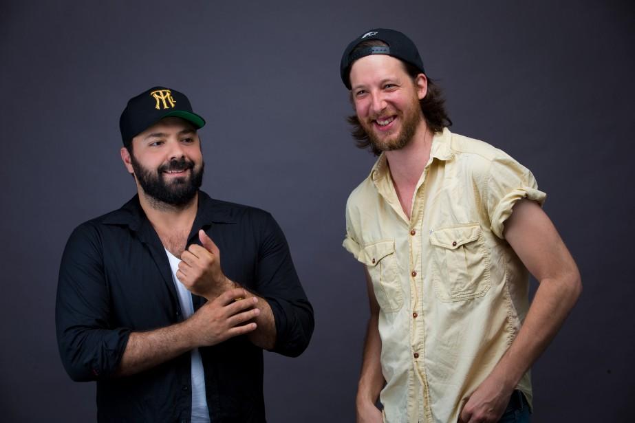 Les deux interprètes et auteurs de Deux, Mani... (PHOTO ANDRÉ PICHETTE, ARCHIVES LA PRESSE)