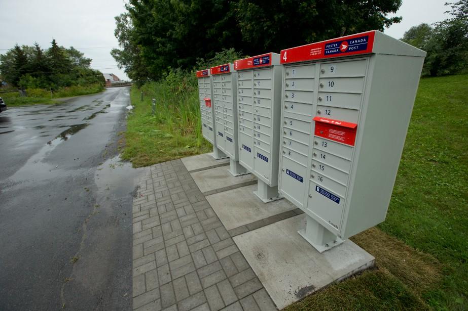 «C'est la livraison du courrier tout court, et... (PHOTO ALAIN ROBERGE, archives LA PRESSE)