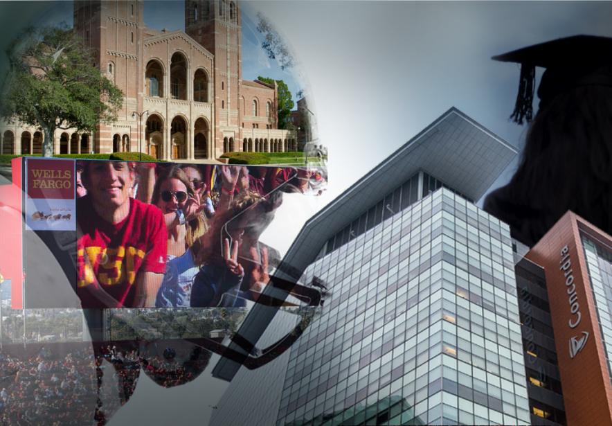 Si les Canadiens apprécient leurs universités, les Américains... (Photomontage La Presse)