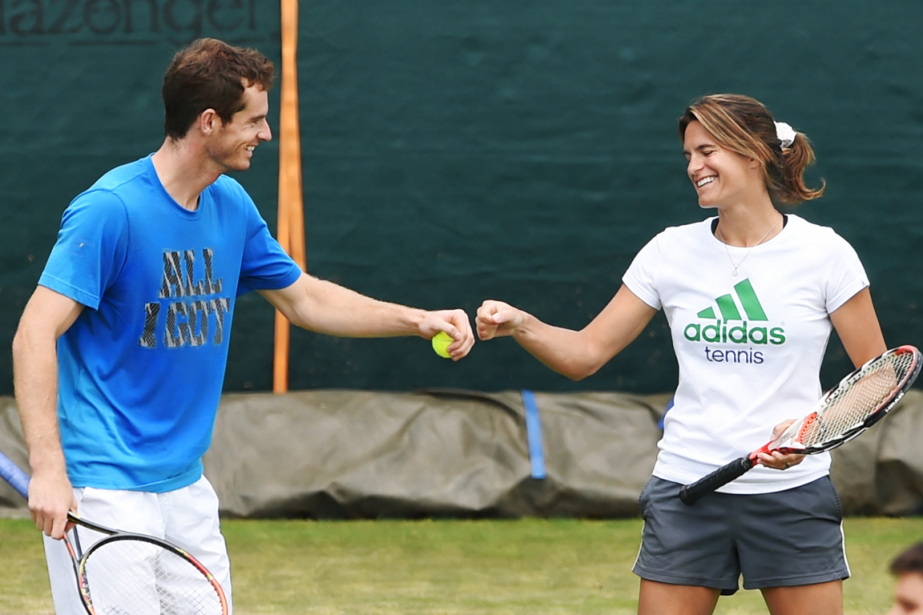 Andy Murray et Amélie Mauresmo ont annoncé lundi... (Photo Tony O'Brien, archives Reuters)