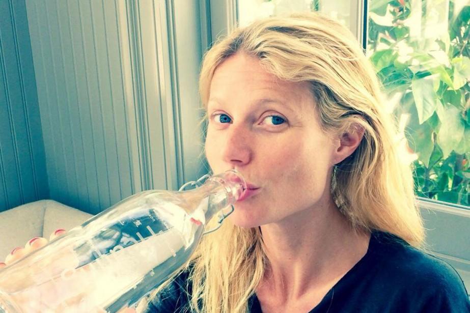 L'actrice Gwyneth Paltrow est l'une des nombreuses célébrités... (PHOTO TIRÉE DU COMPTE TWITTER DE GWYNETH PALTROW)