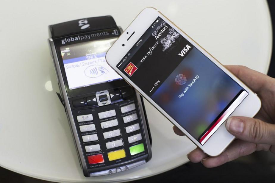 Apple Paypermet aux consommateurs de relier leurs cartes... (Photo CIBC)
