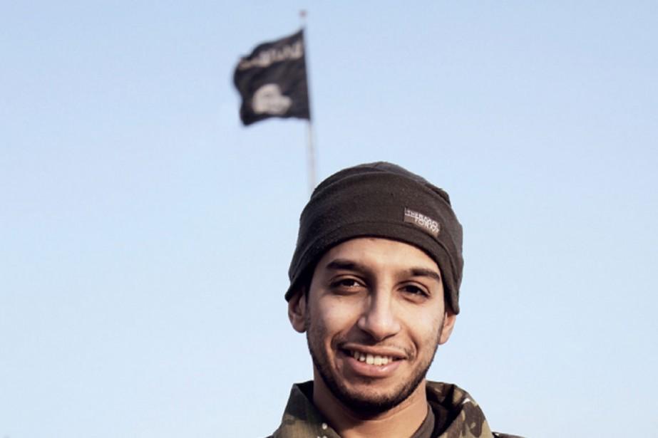 Abdelhamid Abaaoud,rendu tragiquement célèbre par des vidéos le... (PHOTO AFP)