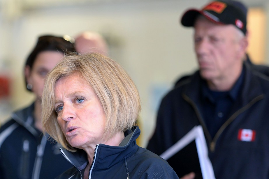 La première ministre de l'Alberta, Rachel Notley... (Photo Jonatan Hayward, AFP)