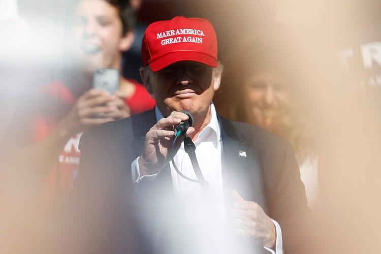 Donald Trump... (PHOTO REUTERS)