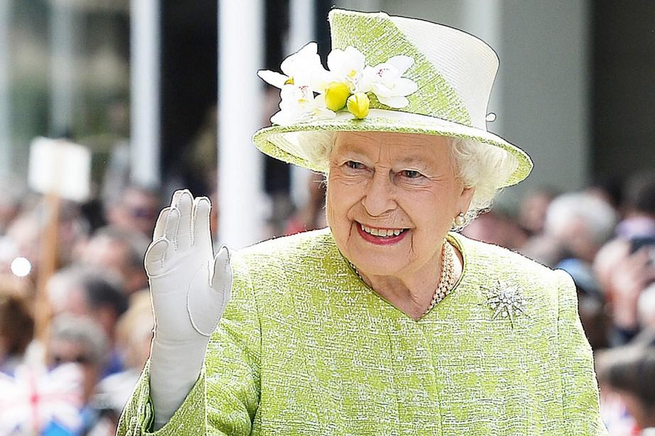 La reine d'Angleterre Élisabeth II.... (Photo John Stillwell, archives AFP)