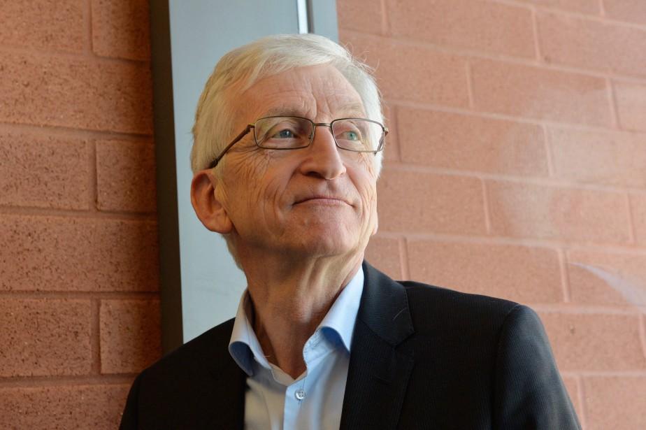 Armel Job, ancien directeur d'école,propose dans son oeuvre... (PHOTO MICHEL PAULIN, COLLABORATION SPÉCIALE)
