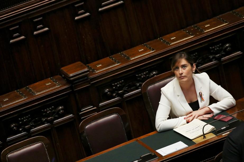 La ministre italienne pour les Réformes constitutionnelles et... (PHOTO ALESSANDRO BIANCHI, REUTERS)