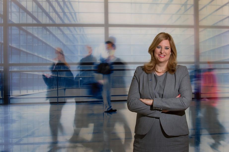 Geneviève Mottard est présidente et chef de la... (photo ivanoh demers, la presse)