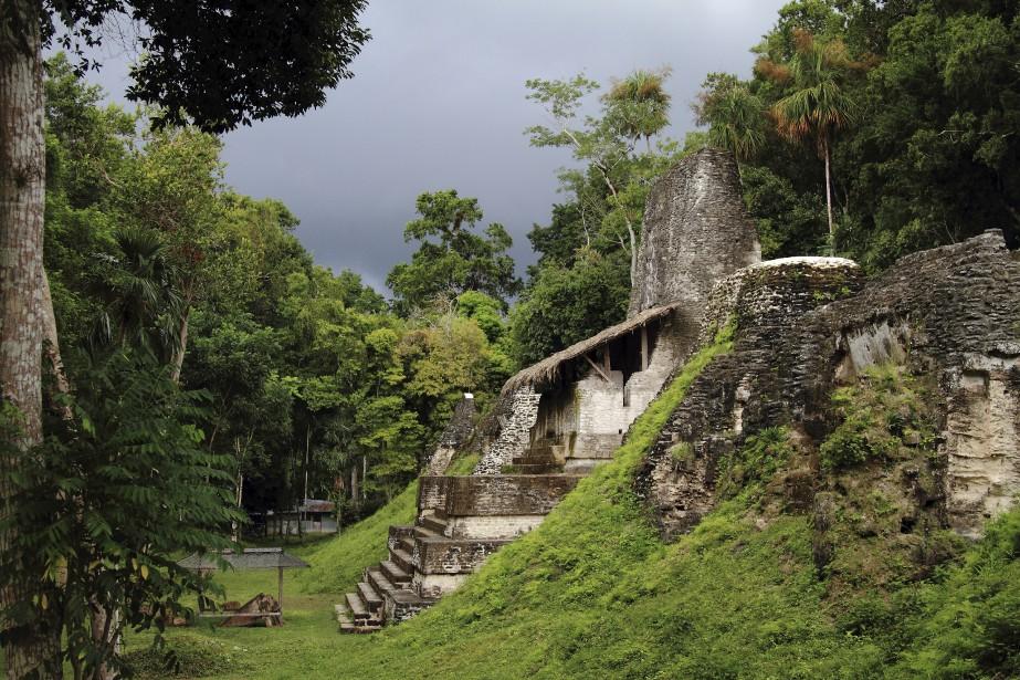 La place des Sept Temples de la cité... (Photo Marc Tremblay, collaboration spéciale)
