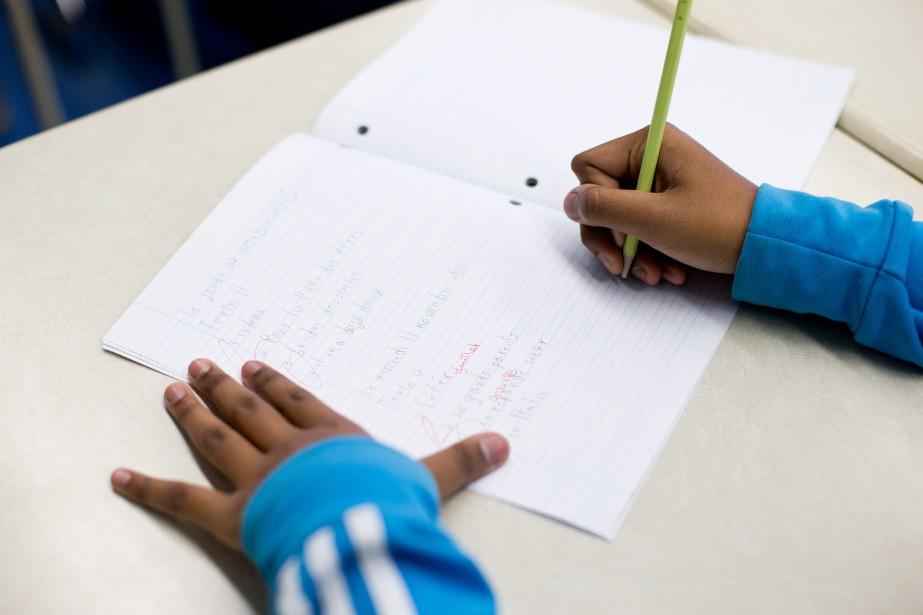 Le fossé générationnel entre les élèves québécois et... (PHOTO SARAH MONGEAU-BIRKETT, archives LA PRESSE)