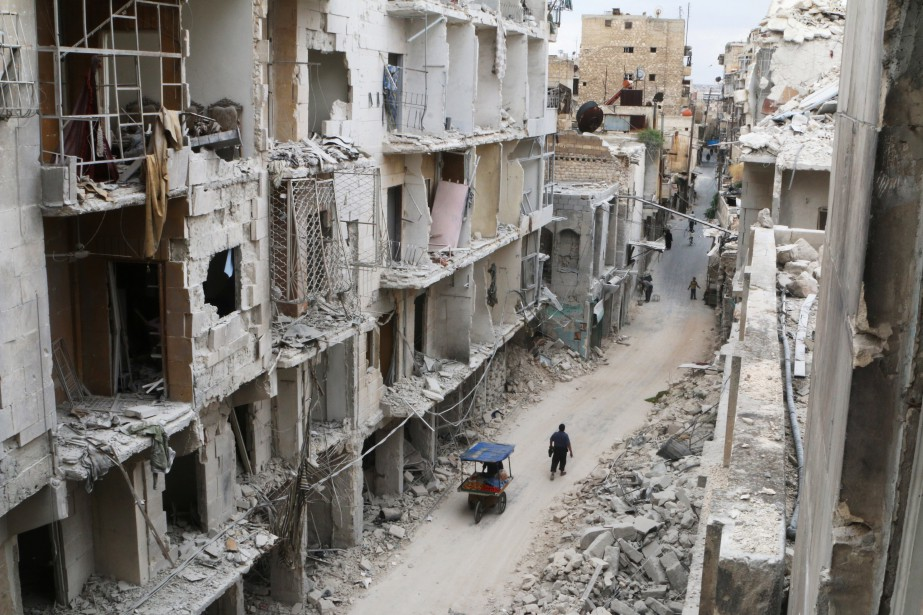 Des bâtiments endommagés à Alep.... (Photo Abdalrhman Ismail, archives Reuters)