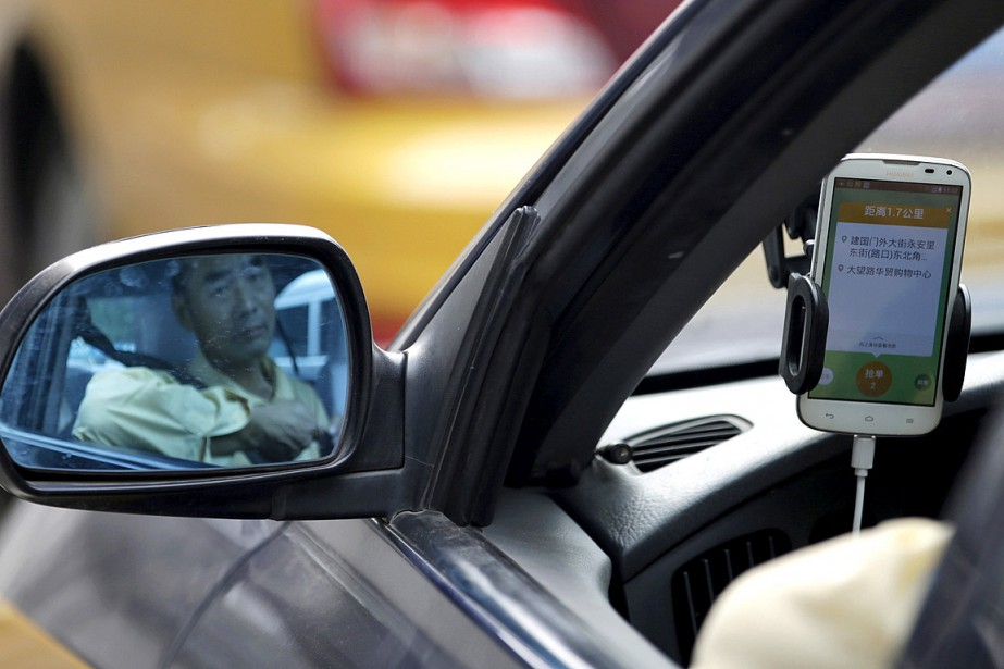 Didi compte plus de 300 millions d'utilisateurs inscrits... (Photo Jason Lee, archives Reuters)