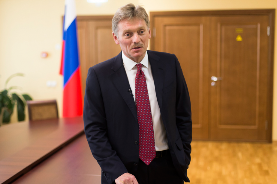 Le porte-parole du Kremlin, Dmitri Peskov.... (Photo Ivan Sekretarev, archives Associated Press)