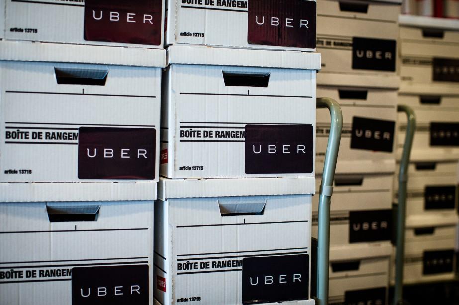 Les porte-parole d'Uber avaient prévenu que leur modèle... (PHOTO OLIVIER PONTBRIAND, archives LA PRESSE)