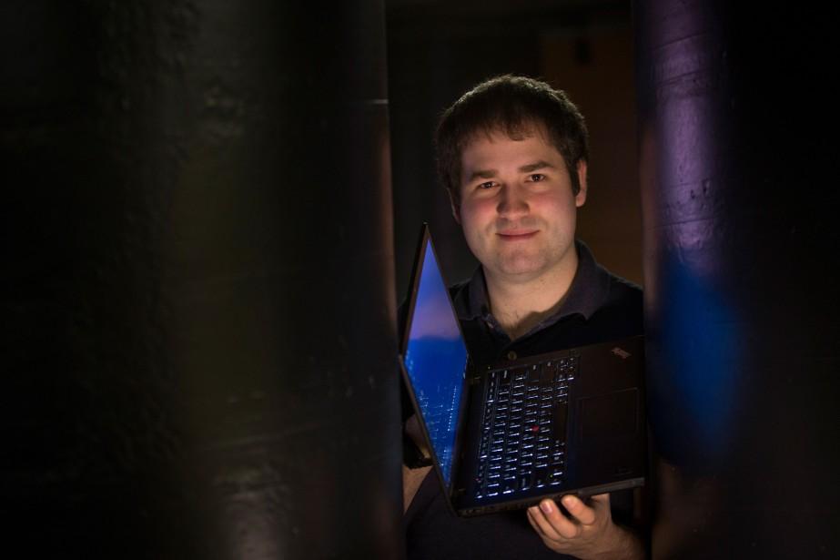 Simon Marin, 25 ans, a déjà relevé de... (PHOTOIVANOH DEMERS, LA PRESSE)