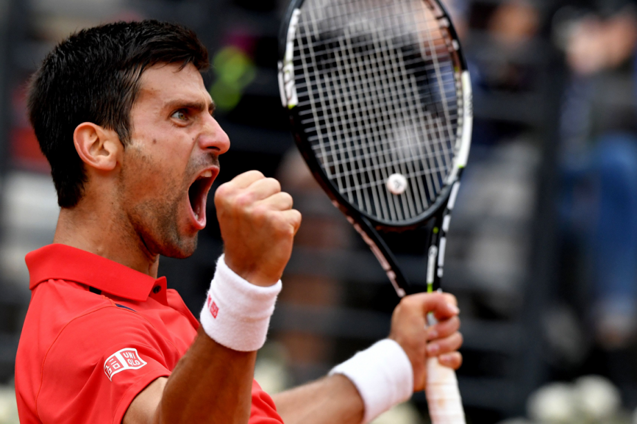 Novak Djokovic... (Tiziana Fabi, AFP)