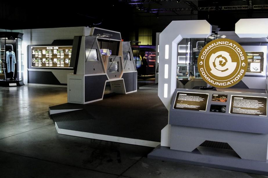 L'exposition<i>Star Trek: l'expérience Académie de Starfleet</i> comptesept thématiques. (Patrick Woodbury, LeDroit)