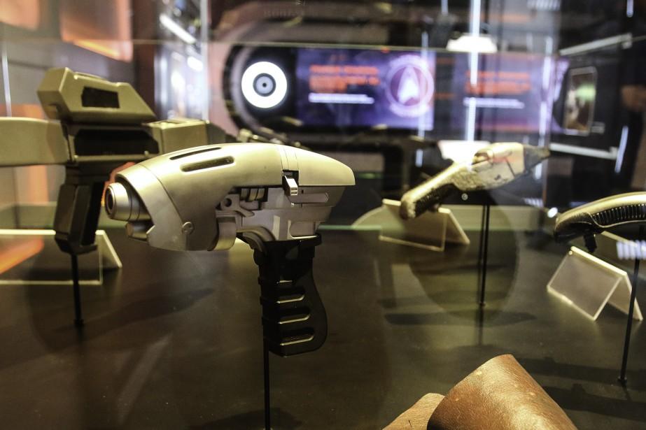 Un gala a été organisé jeudi soir pour lancerl'exposition<i>Star Trek: l'expérience Académie de Starfleet</i>. (Patrick Woodbury, LeDroit)