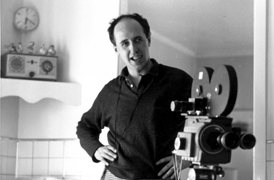 Le réalisateur Michel Brault au début des années... (PHOTO FOURNIE PAR L'ONF)