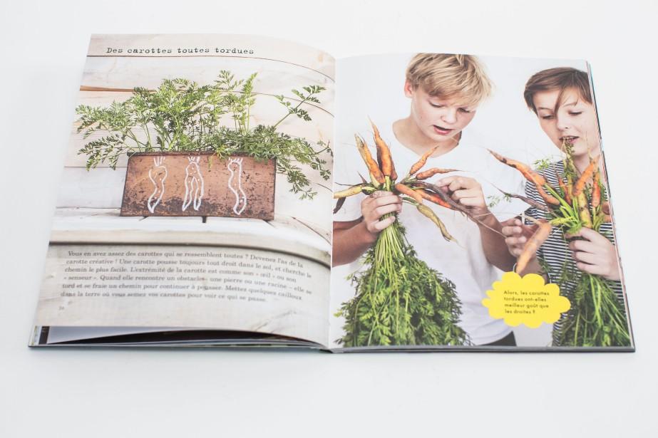Ludique, le livre Graines de jardinierspermet aux jeunes... (PHOTO OLIVIER PONTBRIAND LA PRESSE)