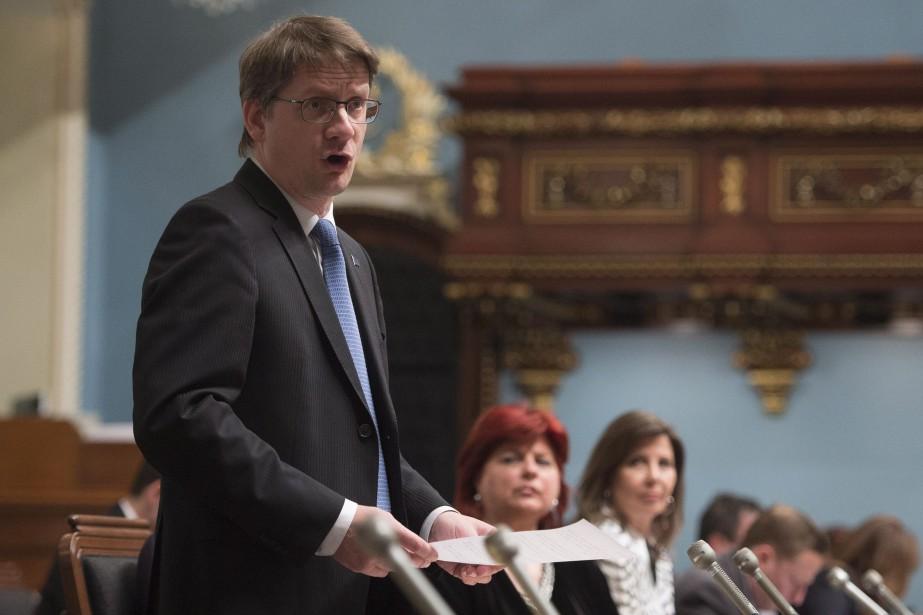 Le chef par intérim du Parti québécois, Sylvain... (Jacques Boissinot, La Presse Canadienne)