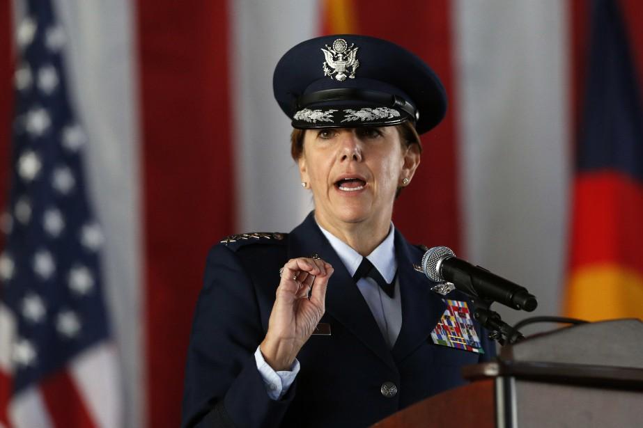 Lori J. Robinson a été nommée à la... (Photo Brennan Linsley, AP)