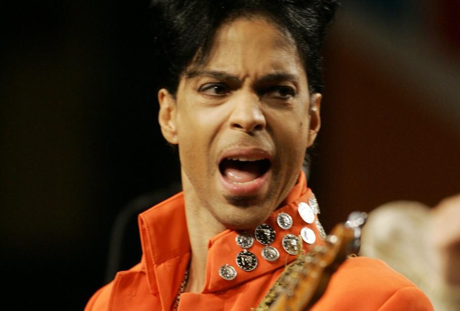 Une célèbre guitare de Prince de couleur jaune, surnommée «Yellow... (Photo AP)