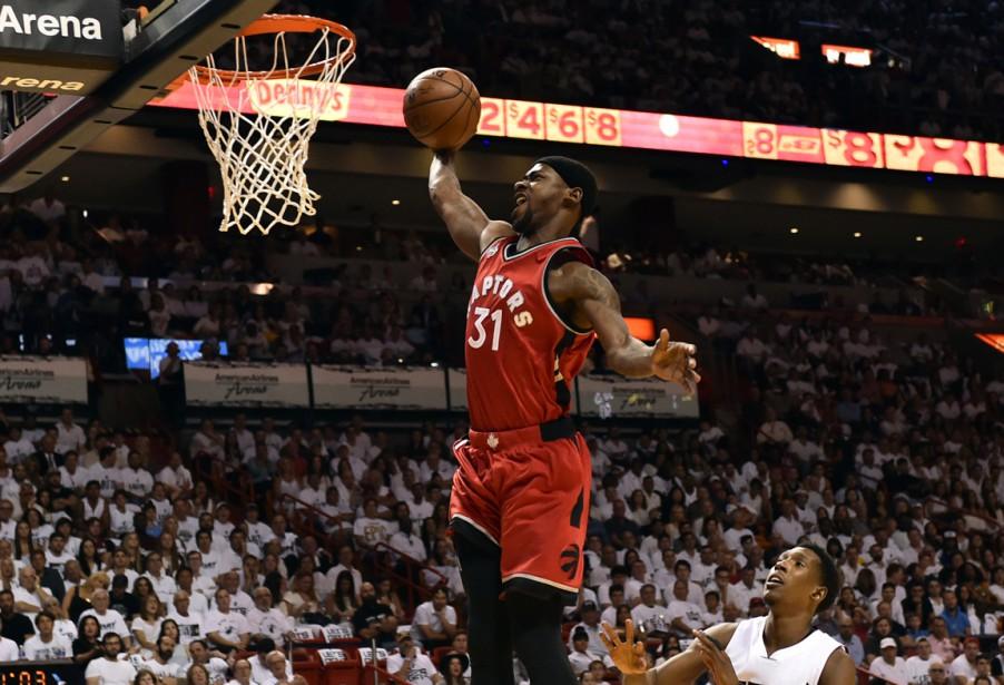 Goran Dragic a réussi 30 points et le Heat de Miami a... (Photo USA Today Sports)