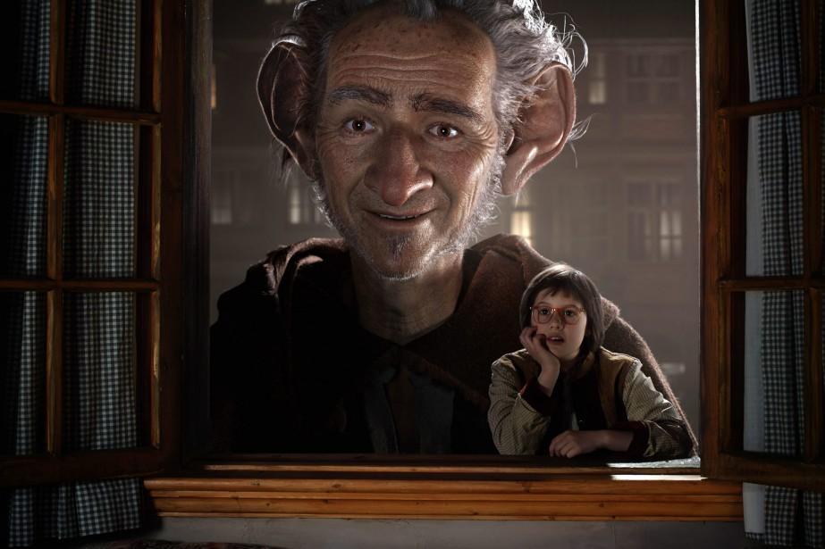 Le visage de l'acteur MarkRylance est totalement déformé... (PHOTO DISNEY ASSOCIATED PRESS)