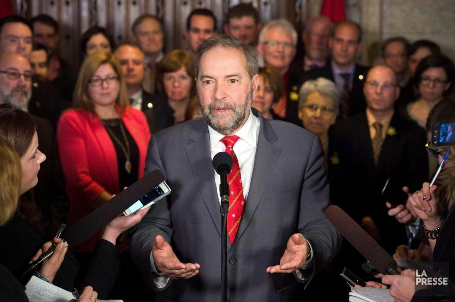 Thomas Mulcair compte mettre un terme à sa... (Photo Adrian Wyld, La Presse Canadiennne)