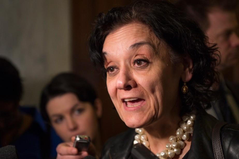 La ministre responsable des Institutions démocratiques, Rita de... (PHOTO JACQUES BOISSINOT, ARCHIVES PC)