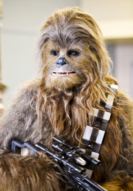 Chewbacca, de la saga<em>Star Wars</em>. (Martin Roy, LeDroit)