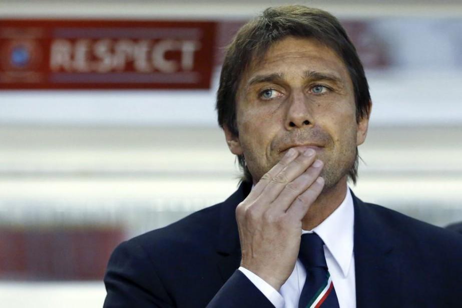 Antonio Conte... (Photo Darko Bandic, archives AP)