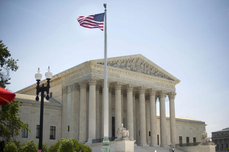 L'édifice de la Cour suprême, à Washington... (PHOTO PABLO MARTINEZ MONSIVAIS, ARCHIVES ASSOCIATED PRESS)